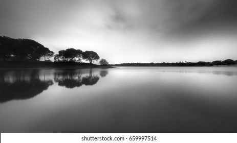 Symmetry on black and white fine art photography