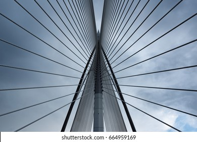 Symmetry  				The united bridge. one of the 10th most beautiful bridges in the world