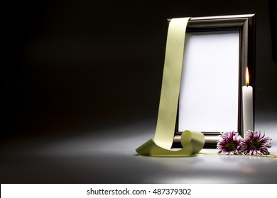 for sympathy card blank mourning frame
