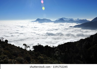 The symphony of Sky, cloud and moutain - The view on the Bach Moc Luong Tu moutain, the 4th highest moutain in Viet Nam - Lao Cai, Lai Chau. So excited, so amazing