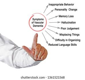 Symptoms of Vascular Dementia