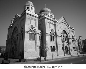 synagoge in Lucenec city