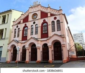 Synagogue in Debrecen city, Hungary