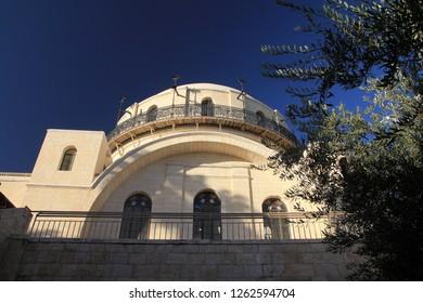Synagogue Hurva in Jerusalem, Israel