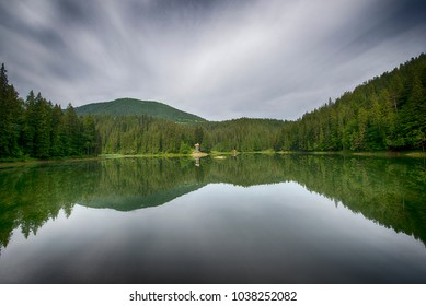 Synevyr - largest lake in the Carpathian Mountains of Ukraine