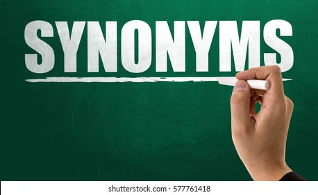 Synonyms Images, Stock Photos & Vectors | Shutterstock