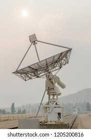 Synthesis Radio Telescope Array, Dominion Radio Astrophysical Observatory in British Columbia, Canada