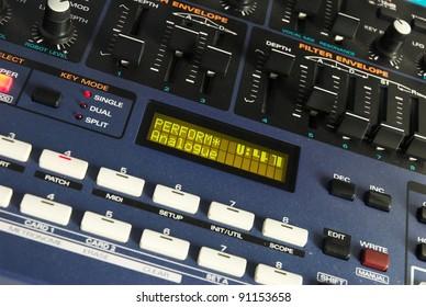 Synthesizer Controls