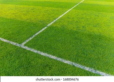 Synthetic football field