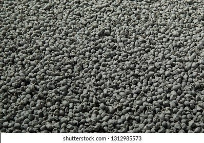 synthetic rubber in bulk.