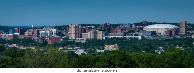 Syracuse New York Downtown and Hill