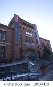 Syracuse, New York - January 4th 2012: Milton J. Rubenstein Museum of Science & Technology