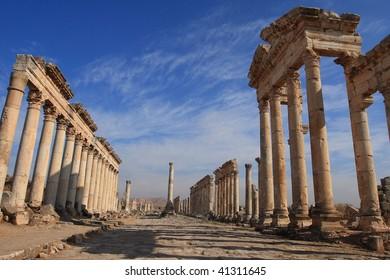 syria. apamea