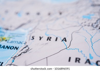 Damascus Syria World Map Images, Stock Photos & Vectors | Shutterstock