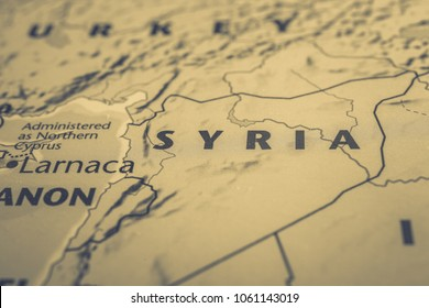 syria on the map of europe