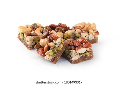 Syrian baklava with pistachio and cashew nut