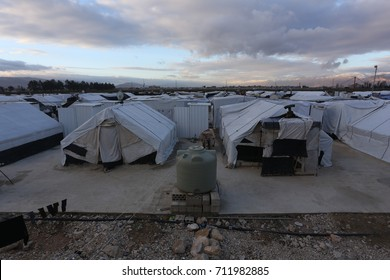 Syrian Refugees Camp at Bekaa Valley, Lebanon