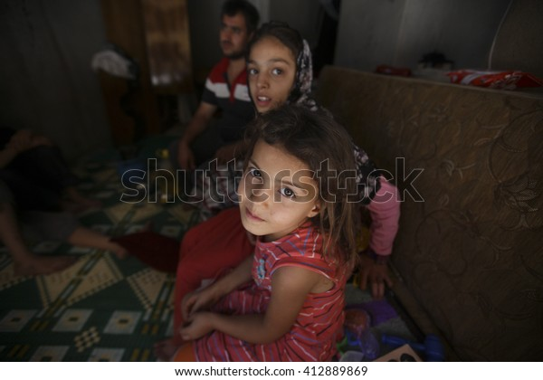 Syrian refugees sitiation in Gaziantep, Turkey, 17 July  2015
