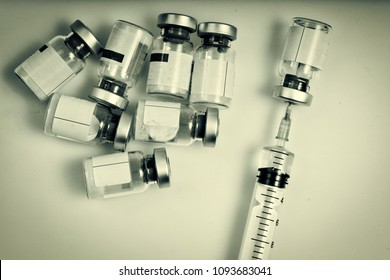 Syringe load with toxin