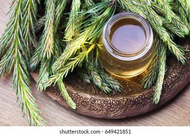 syrup made of pine - alternative medicine