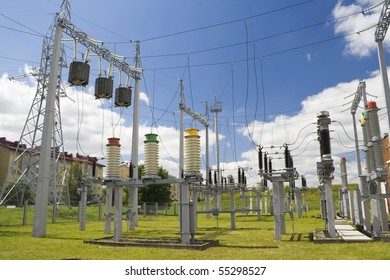 Systems of distribution and switching of power electric energy for a modern city.