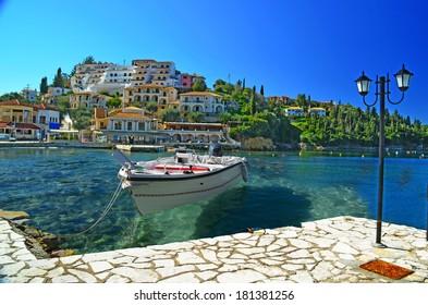 Syvota - tourist resort in Greece