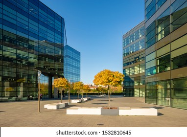 Szczecin, Poland-May 2019: Office buildings of the Baltic Business Park