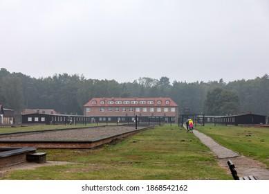 Sztutowo, Poland - Sept 5, 2020: the former Nazi Germany Concentration Camp, Stutthof, Poland