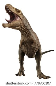 t rex is hungre 3d illustration