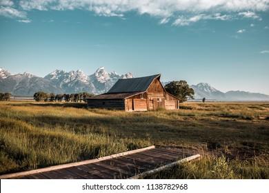 T.A Moulton Barn Grand Teton National Park