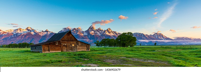 T.A. Moulton Barn in Jackson Hole