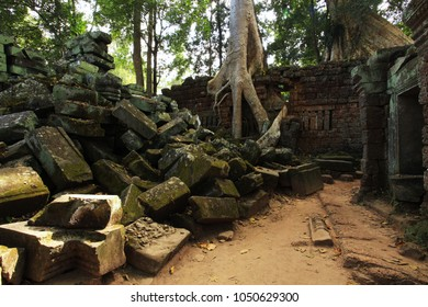 Ta Prohm Temple, Temples of Angkor, Cambodia