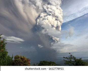 Taal Philippines Volcano Eruption January 2020