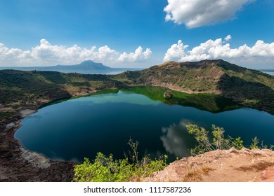 Taal Volcano crater lake within the Caldera