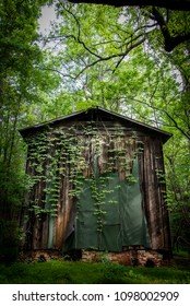 Tabacco Barns in Rural North Carolina.