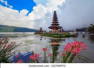 Tabanan Regency, Bali - Indonesia. May 21th, 2013. Pura Ulan Danu Beratan is a large water temple in Bali - Indonesia. The other main water temples are Ulun Danu Batur Temple.