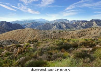 tabernas desert of Andalusia, Spain