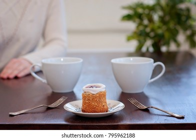 Table for 2: Runeberg's cake or tart is a Finnish traditional dessert and pastry