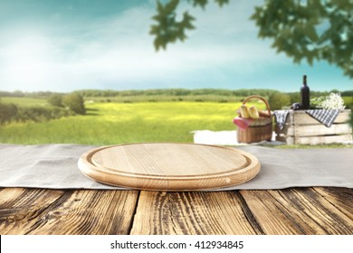 table background and tablecloth and picnic