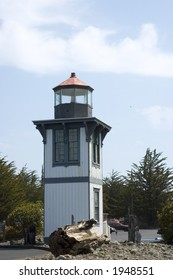 Table Bluff Lighthouse at Woodley Island, California