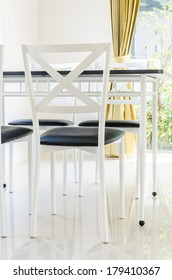 Table chair dining interior