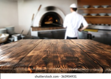 table and cook