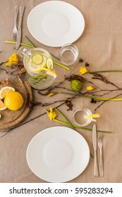 Table decorations for spring