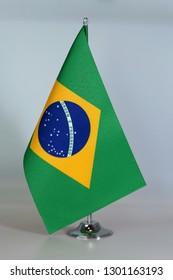 Table Flag of Brazil, Flagpole.