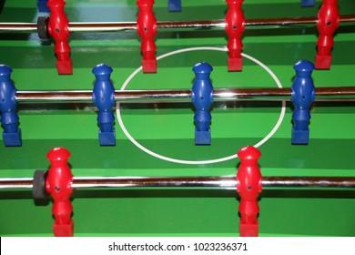 Table football (Bonzini style table)