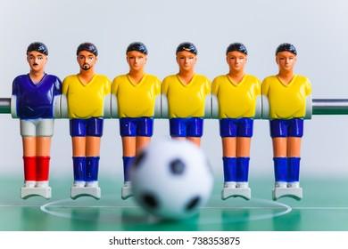 Table football .foosball