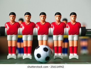 table football players red form
