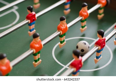 Table football is a toy for the skills, speed and cunning.