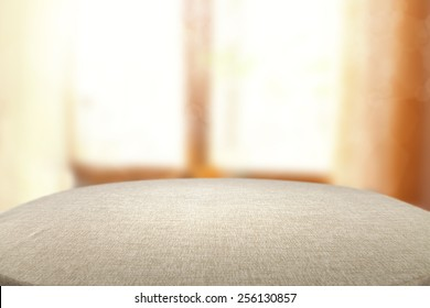 table of free space for you and window of sun