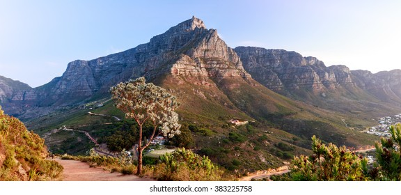 Table Mountain in Capetown, S.A.